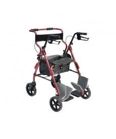 WIMED ROLLY 2 - Rollator in Alluminio 4 Ruote con Freni