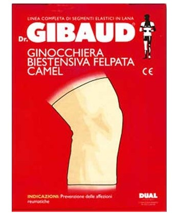 Dr. GIBAUD CAMEL - Ginocchiera Biestensiva Felpata