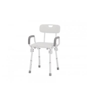 MEDILAND 855991 - Seggiolino per doccia con braccioli e schienale