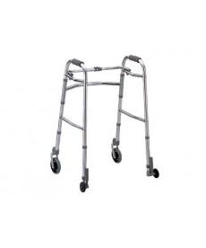KOMETA 000954 - Nuovo Deambulatore duralluminio 4 ruote