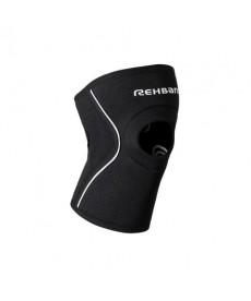 Rehband - Tutore per ginocchio con foro rotuleo Uomo